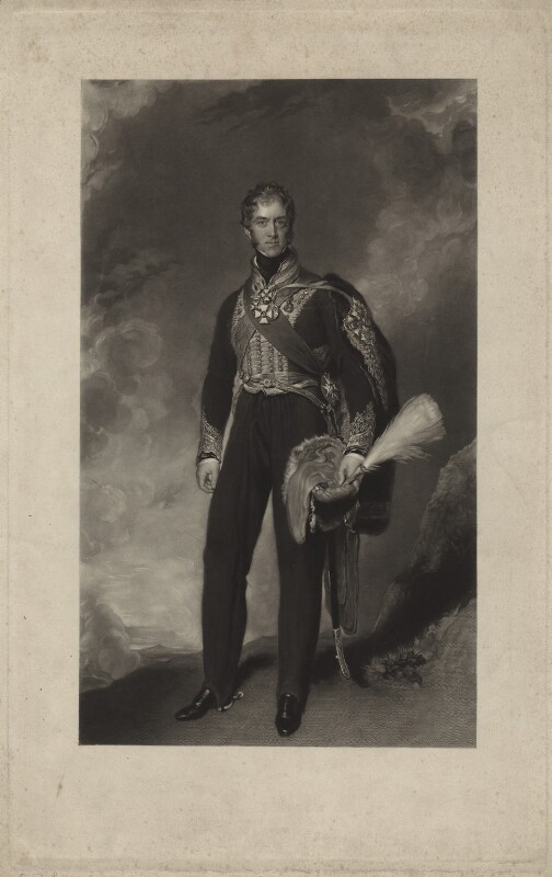 Henry William Paget, 1st Marquess of Anglesey, by John Richardson Jackson, after  Sir Thomas Lawrence, published 1845 - NPG D7059 - © National Portrait Gallery, London