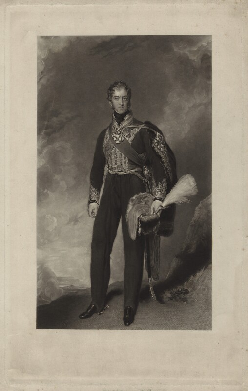 Henry William Paget, 1st Marquess of Anglesey, by John Richardson Jackson, after  Sir Thomas Lawrence, published 1845 - NPG D7060 - © National Portrait Gallery, London