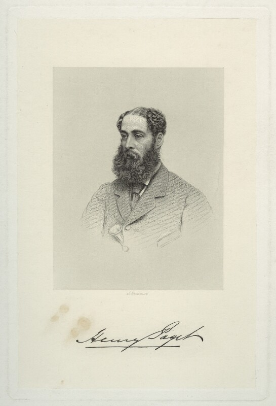 Henry Paget, 4th Marquess of Anglesey, by Joseph Brown, published by  A.H. Baily & Co, after  Unknown artist, published 1 November 1869 - NPG D7065 - © National Portrait Gallery, London