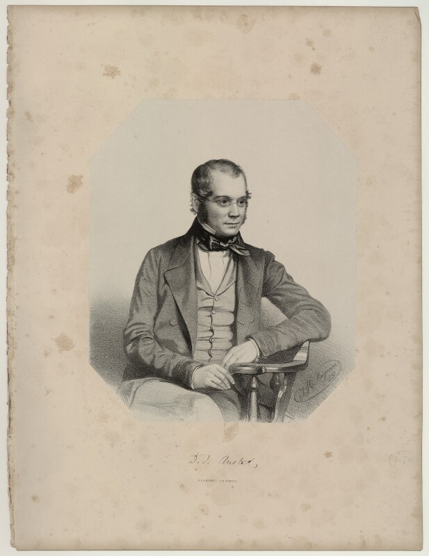 David Thomas Ansted, by Thomas Herbert Maguire, 1850 - NPG D7075 - © National Portrait Gallery, London