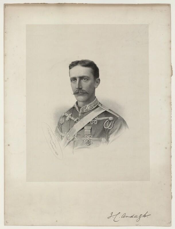 Sir John Charles Ardagh, by George B. Black, 1880 - NPG D7085 - © National Portrait Gallery, London