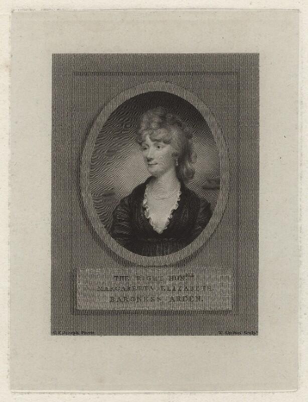 Margaretta Elizabeth Perceval (née Wilson), Lady Arden, by William Skelton, after  George Francis Joseph, early 19th century - NPG D7088 - © National Portrait Gallery, London