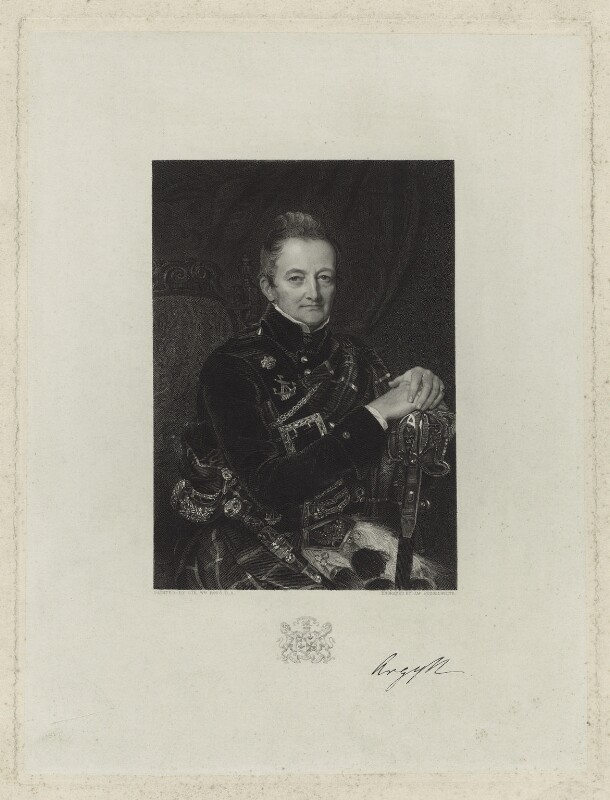 John Campbell, 7th Duke of Argyll, by James Posselwhite, after  Sir William Charles Ross, (1843) - NPG D7101 - © National Portrait Gallery, London