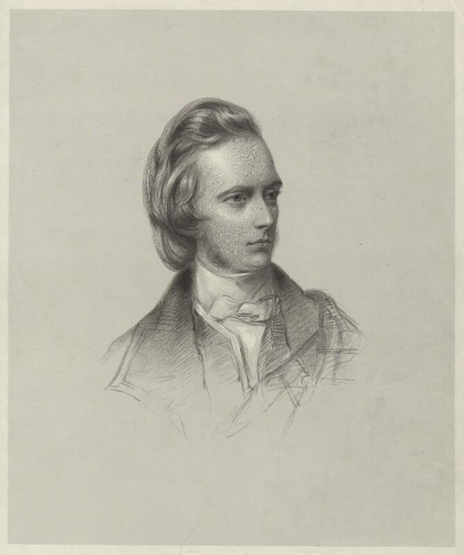George Douglas Campbell, 8th Duke of Argyll, by Francis Holl, after  James Rannie Swinton, published 1853 - NPG D7103 - © National Portrait Gallery, London