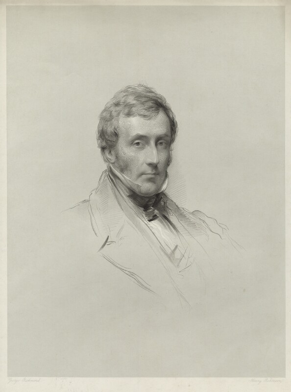 William Pulteney Alison, by John Henry Robinson, after  George Richmond, published 1849 - NPG D7106 - © National Portrait Gallery, London