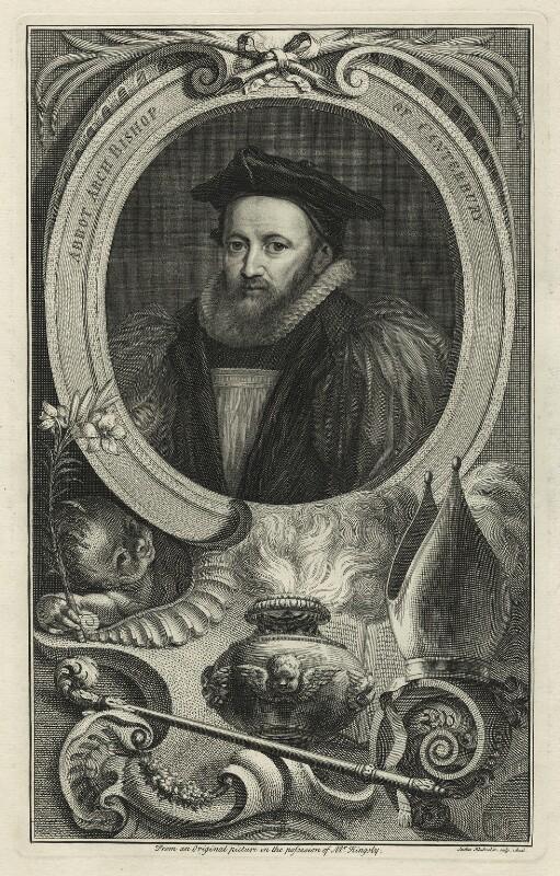 George Abbot, by Jacobus Houbraken, 1740s-1750s - NPG D7127 - © National Portrait Gallery, London