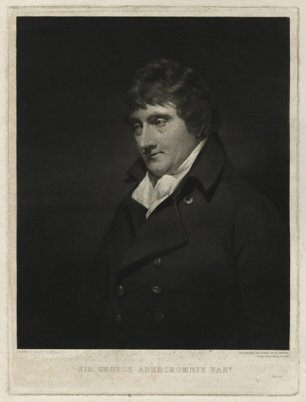 Sir George Abercromby Abercromby, 4th Bt, by Thomas Goff Lupton, after  Sir Henry Raeburn, mid 19th century - NPG D7131 - © National Portrait Gallery, London