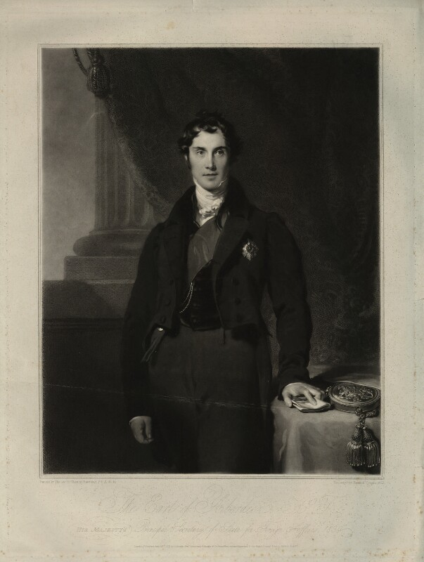 George Hamilton Gordon, 4th Earl of Aberdeen, by Samuel Cousins, after  Sir Thomas Lawrence, 1831 - NPG D7138 - © National Portrait Gallery, London