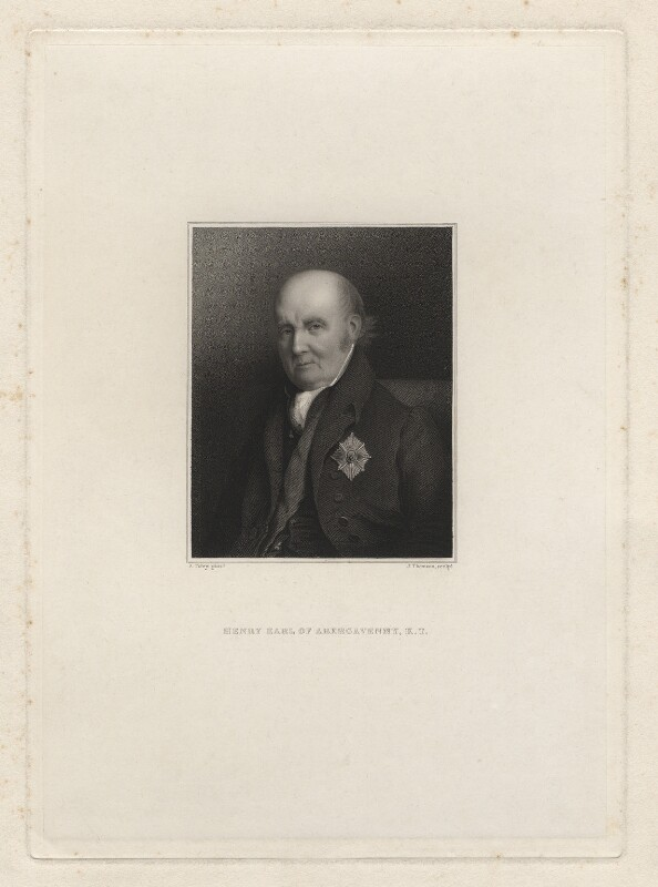 Henry Nevill, 2nd Earl of Abergavenny, by James Thomson (Thompson), after  Alfred Tidey, 1825-1850 - NPG D7140 - © National Portrait Gallery, London