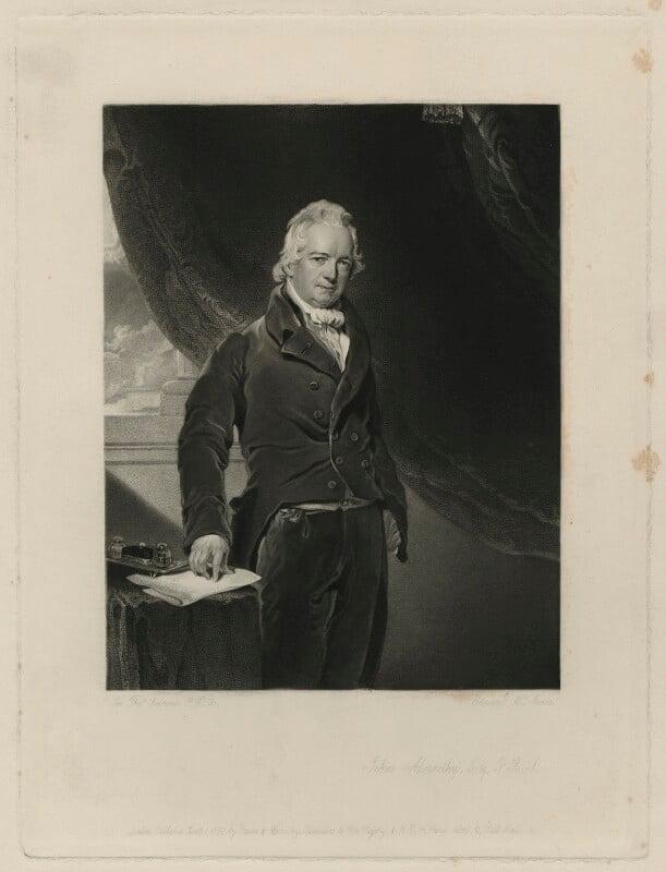 John Abernethy, by Edward McInnes, after  Sir Thomas Lawrence, published 1842 - NPG D7142 - © National Portrait Gallery, London