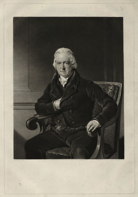 John Abernethy, by Charles Turner, after  Charles William Pegler, published 1828 - NPG D7146 - © National Portrait Gallery, London