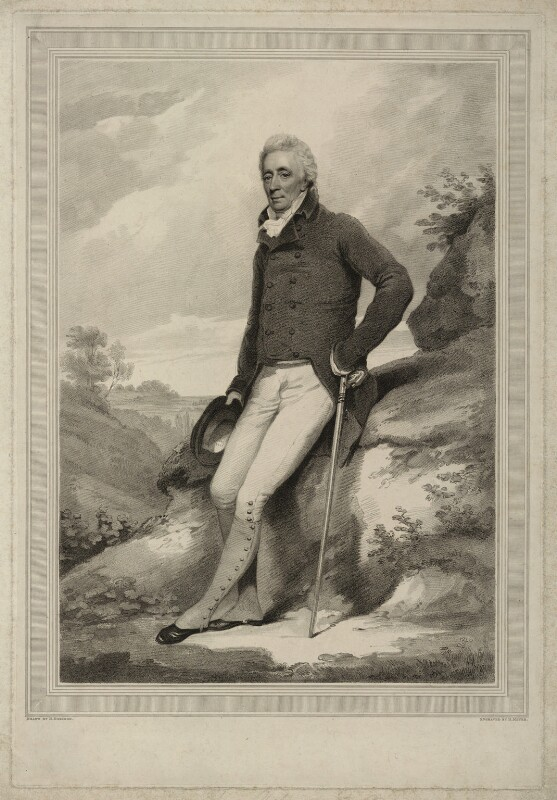 Alexander Adair, by Henry Meyer, after  Henry Edridge, early 19th century - NPG D7165 - © National Portrait Gallery, London