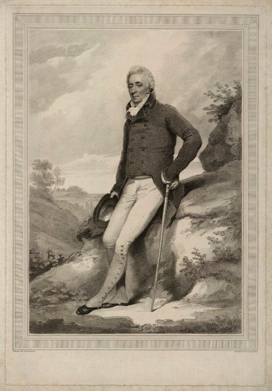 Alexander Adair, by Henry Meyer, after  Henry Edridge, early 19th century - NPG D7165 - © National Portrait Gallery, London