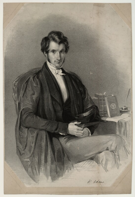 William Adams, by James Henry Lynch, after  Thomas Richmond, (1845) - NPG D7170 - © National Portrait Gallery, London