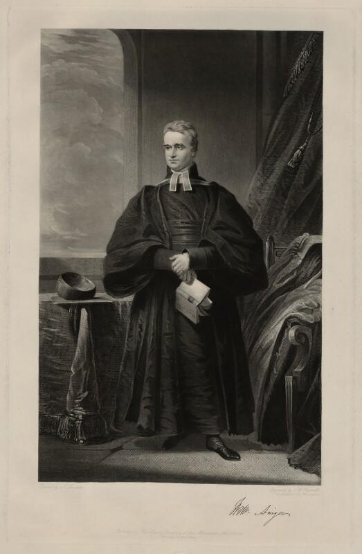 William Ainger, by Samuel William Reynolds, after  James Lonsdale, published 1845 - NPG D7184 - © National Portrait Gallery, London