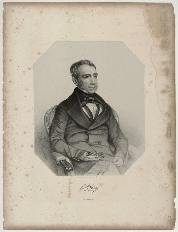 Sir George Biddell Airy, by Thomas Herbert Maguire, 1852 - NPG D7189 - © National Portrait Gallery, London