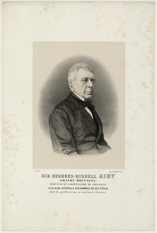 Sir George Biddell Airy, by Jean-François Artus, 1872 or after - NPG D7190 - © National Portrait Gallery, London