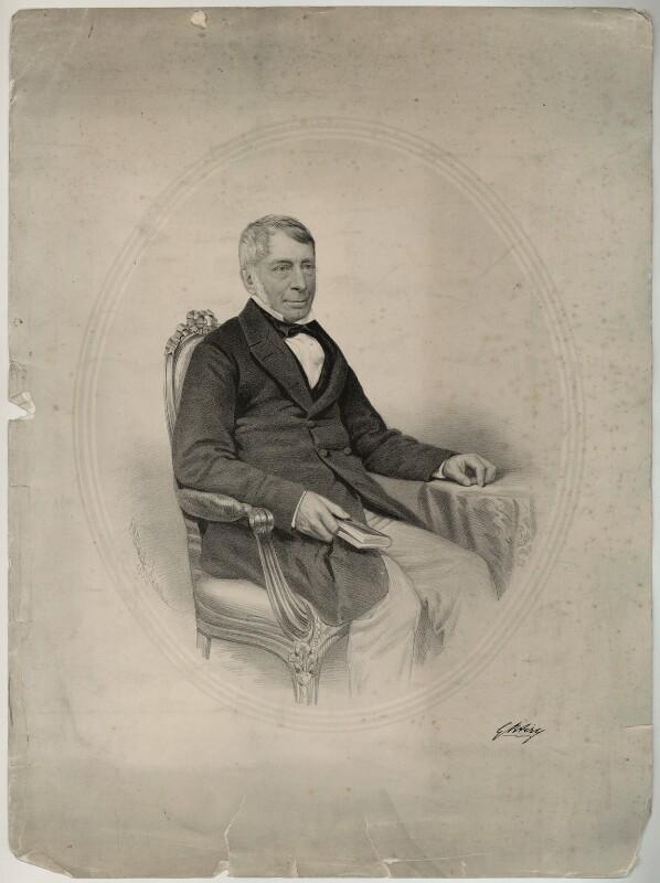Sir George Biddell Airy, by George B. Black, 1864 - NPG D7192 - © National Portrait Gallery, London