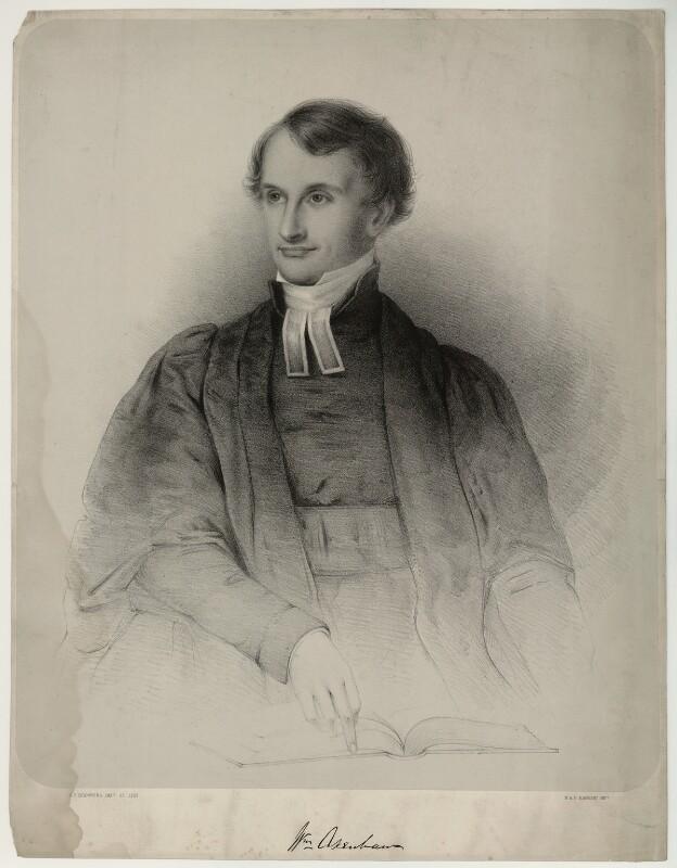 William Akenham, by George Frederick Browning, mid 19th century - NPG D7194 - © National Portrait Gallery, London