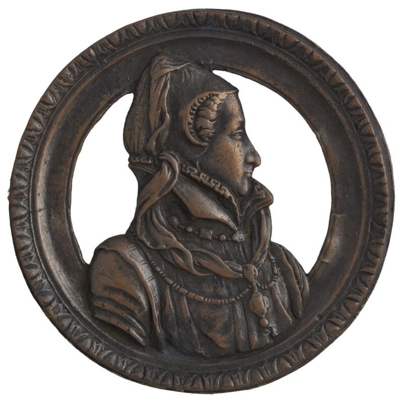 Jeanne d'Albret, Queen of Navarre, after Unknown artist,  - NPG D7206 - © National Portrait Gallery, London