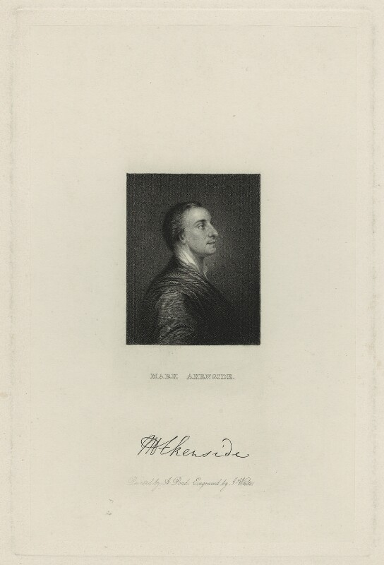 Mark Akenside, by James White, after  Arthur Pond, (1754) - NPG D7301 - © National Portrait Gallery, London