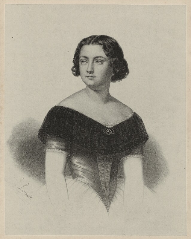Marietta Alboni, Countess Pepoli (née Maria Anna Marzia), by A. de Laroussie, after  Unknown artist, 1840s - NPG D7310 - © National Portrait Gallery, London