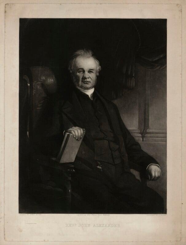 John Alexander, by John Moffat, after  James Edgar, published 1953 - NPG D7317 - © National Portrait Gallery, London