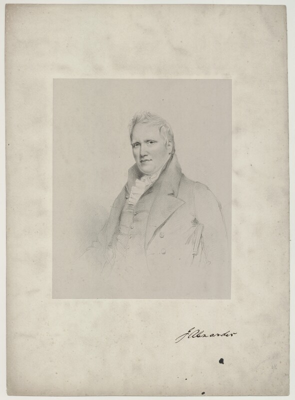 J. Alexander, by Richard James Lane, circa 1825-1850 - NPG D7319 - © National Portrait Gallery, London