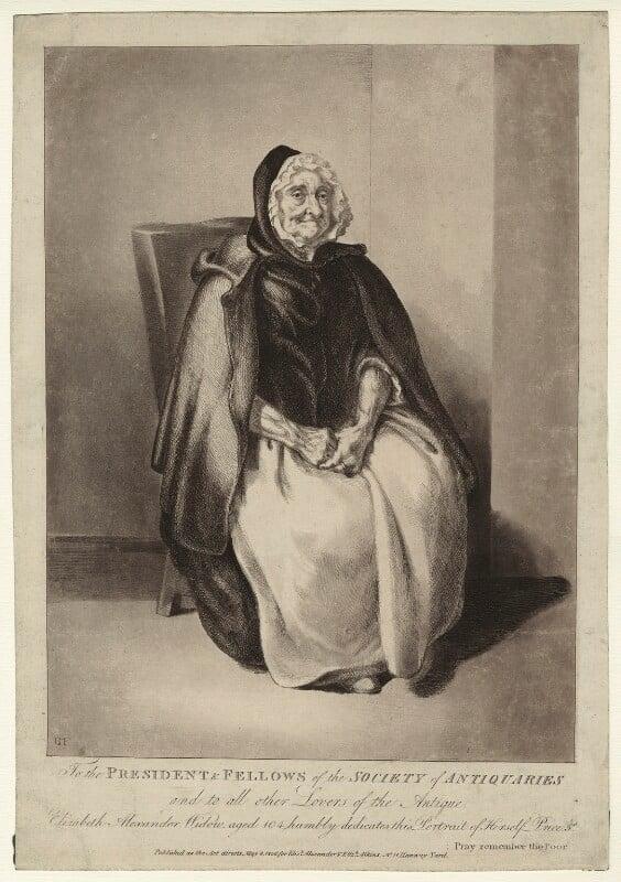 Elizabeth Alexander, by Catherine Maria Fanshawe, published for  Elizabeth Alexander, published for  Elizabeth Atkins, published 8 May 1806 - NPG D7320 - © National Portrait Gallery, London