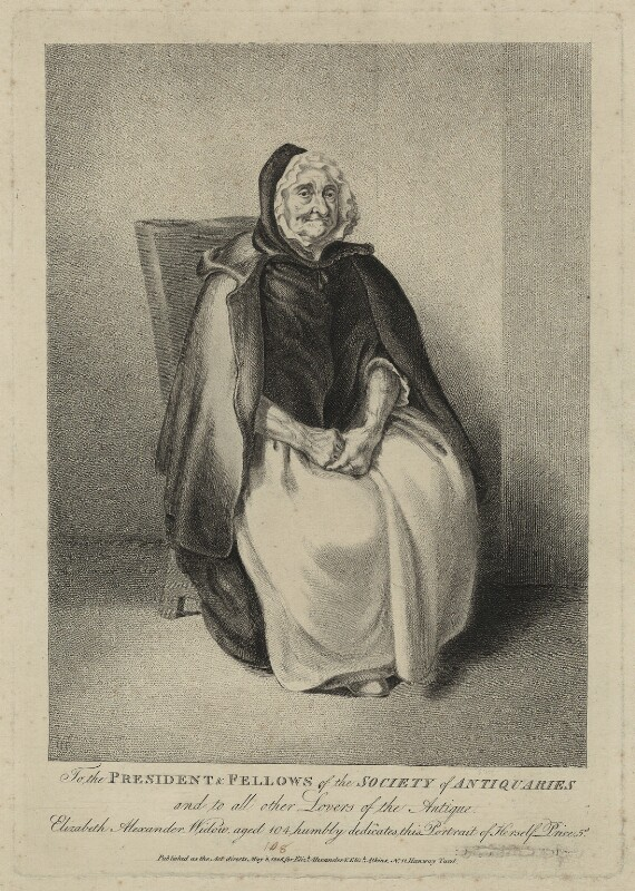 Elizabeth Alexander, by Catherine Maria Fanshawe, published for  Elizabeth Alexander, published for  Elizabeth Atkins, published 8 May 1806 - NPG D7321 - © National Portrait Gallery, London