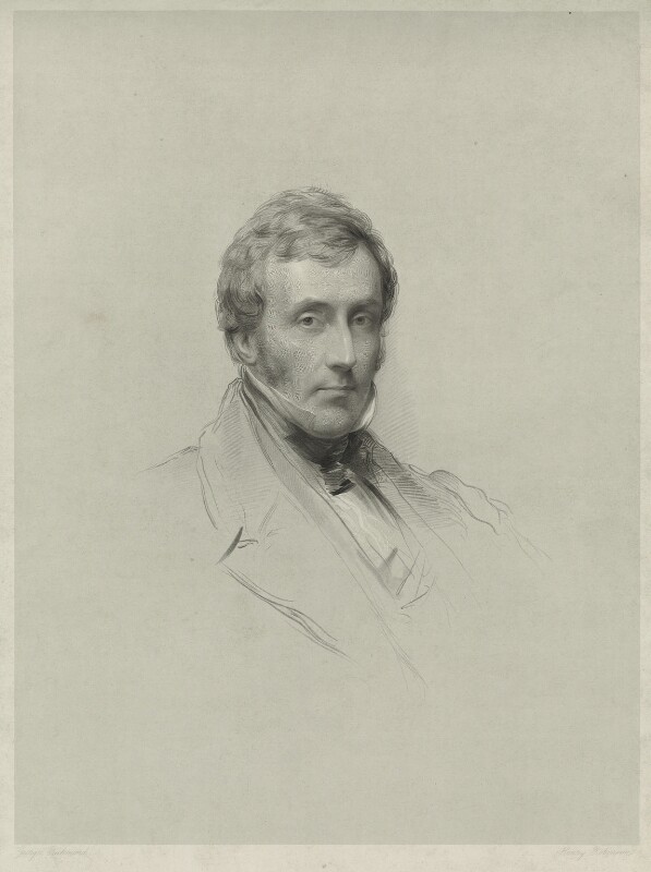 William Pulteney Alison, by John Henry Robinson, after  George Richmond, published 1849 - NPG D7326 - © National Portrait Gallery, London