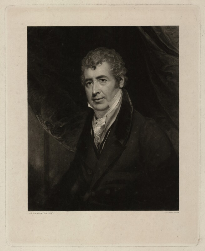 Lancelot Baugh Allen, by Thomas Goff Lupton, after  Sir William Beechey, mid 19th century - NPG D7333 - © National Portrait Gallery, London