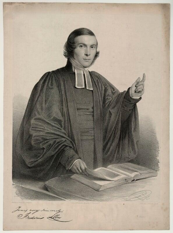 Frederic Allin, by Charles Baugniet, 1845 - NPG D7337 - © National Portrait Gallery, London