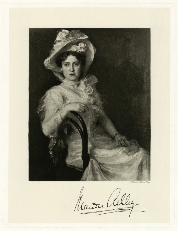 Maude Ashley, by Frederick John Jenkins, early 20th century - NPG D7407 - © National Portrait Gallery, London