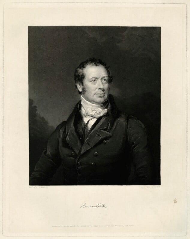 Thomas Ashton, by James Thomson (Thompson), after  William Bradley, published 1847 - NPG D7411 - © National Portrait Gallery, London