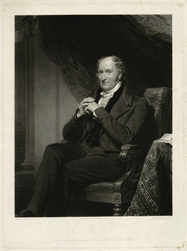 William Henry Ashurst, by Thomas Goff Lupton, after  Henry Perronet Briggs, published 1843 - NPG D7412 - © National Portrait Gallery, London