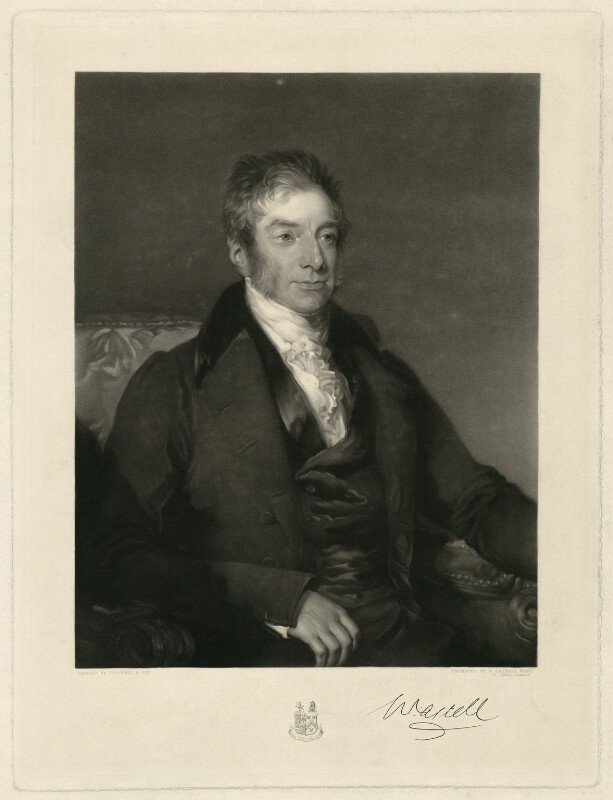William Astell, by George Raphael Ward, after  Frederick Richard Say, mid 19th century - NPG D7415 - © National Portrait Gallery, London