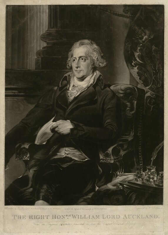 William Eden, 1st Baron Auckland, by William Dickinson, after  Sir Thomas Lawrence, published 1796 (1792) - NPG D7446 - © National Portrait Gallery, London
