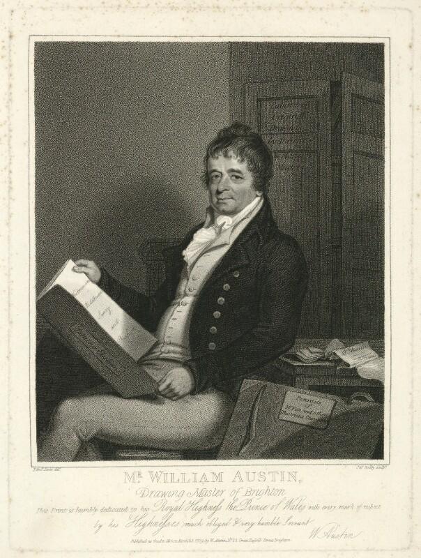 William Austin, by James Godby, after  Edmund Scott, published 1809 - NPG D7450 - © National Portrait Gallery, London