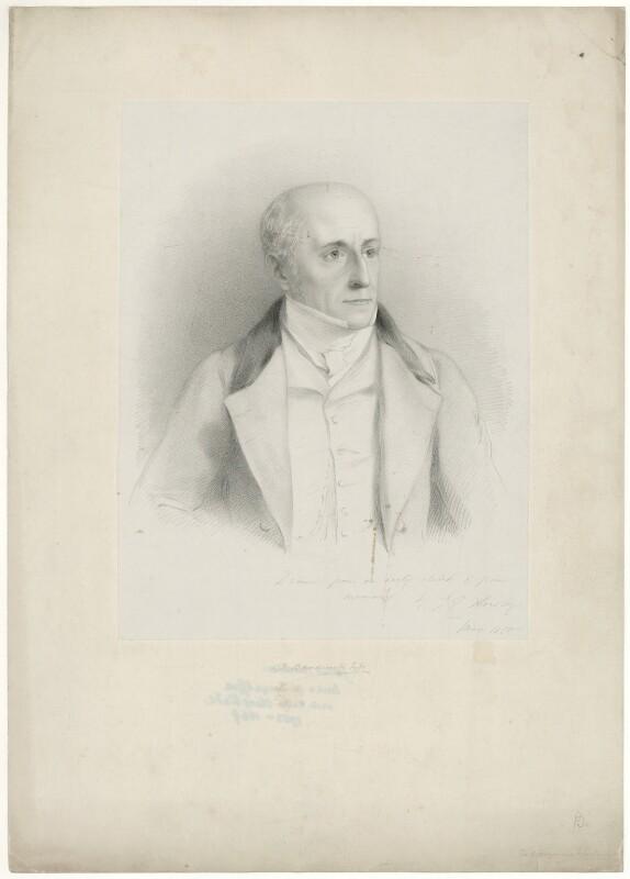 James Bandinel, by John Callcott Horsley, 1850 - NPG D7492 - © National Portrait Gallery, London