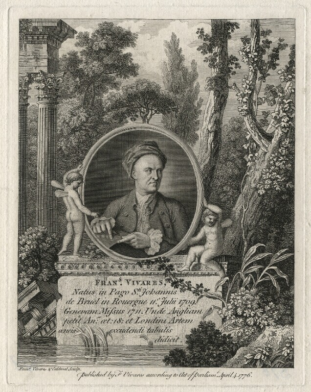 François Vivares, by and published by François Vivares, and by  James Caldwall, published 4 April 1776 - NPG D7539 - © National Portrait Gallery, London