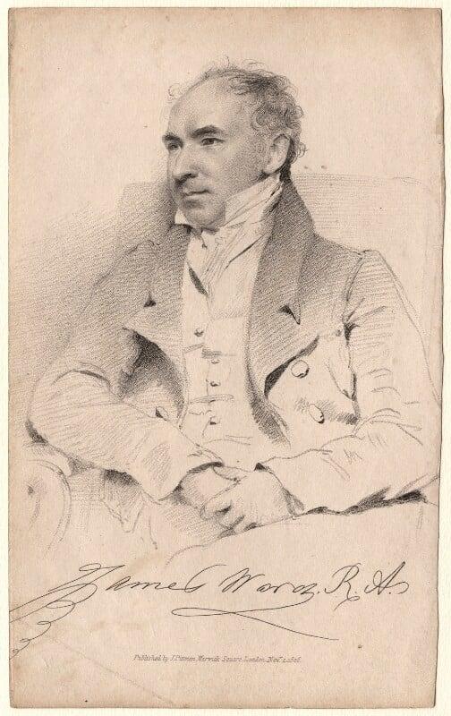 James Ward, after Unknown artist, published 1826 - NPG D7570 - © National Portrait Gallery, London
