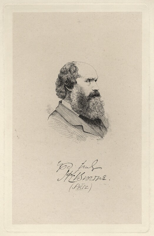 Hablot Knight Browne ('PHIZ'), by Frederick William Pailthorpe, after  Unknown artist, late 19th century - NPG D7648 - © National Portrait Gallery, London