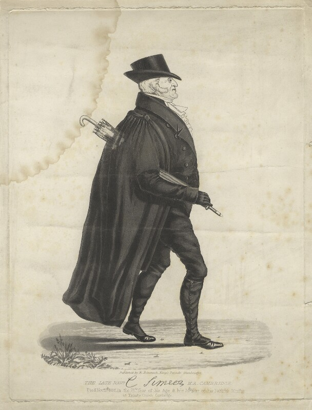 Charles Simeon, by Unknown engraver, 1836 or after - NPG D766 - © National Portrait Gallery, London
