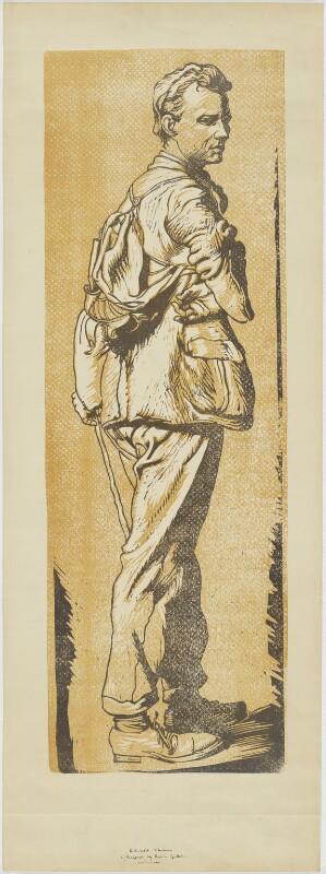 Edward Thomas, by Robin Craig Guthrie, after 1917 - NPG D7663 - © estate of Robin Craig Guthrie / National Portrait Gallery, London