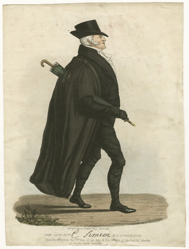 Charles Simeon, by Unknown engraver, 1836 or after - NPG D767 - © National Portrait Gallery, London