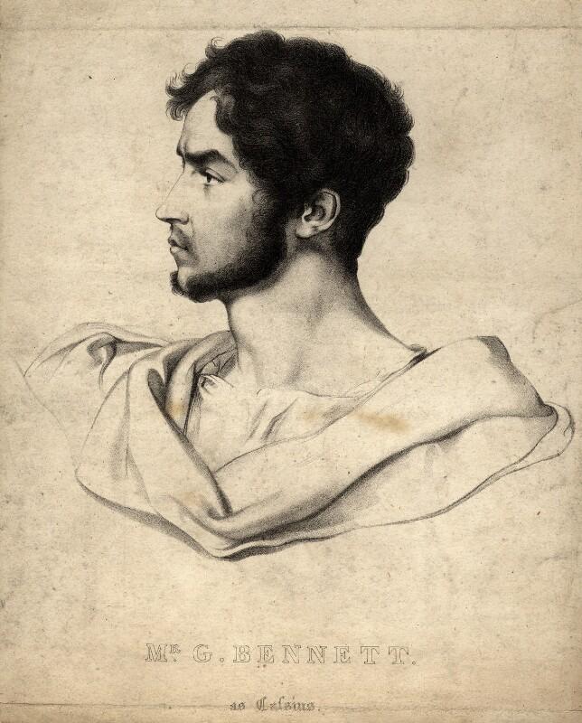 George John Bennett, by William Sharp, after  G.F. Stroehling, published 1831 - NPG D7733 - © National Portrait Gallery, London