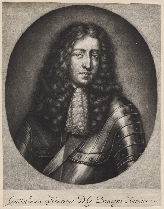 King William III when Prince of Orange, after Unknown artist, probably late 17th century - NPG D7747 - © National Portrait Gallery, London