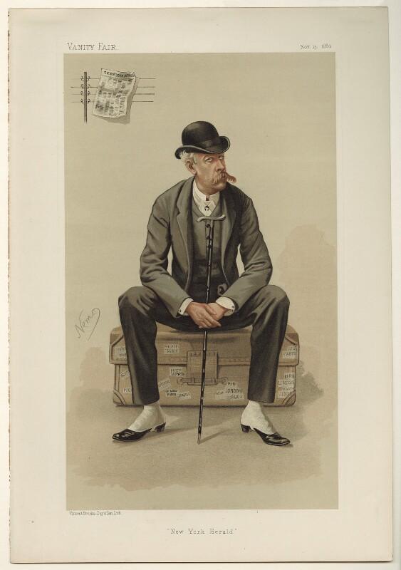 (James) Gordon Bennett Jr, by Constantine von Grimm ('Nemo'), published 1884 - NPG D7808 - © National Portrait Gallery, London