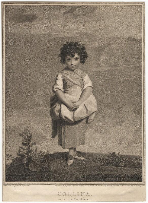 'Collina' (Lady Gertrude Fitzpatrick), by John Jones, after  Sir Joshua Reynolds, published 1792 - NPG D7846 - © National Portrait Gallery, London